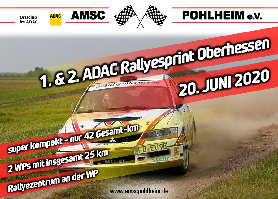 Vorankündigung 1. & 2. ADAC Rallye Oberhessen