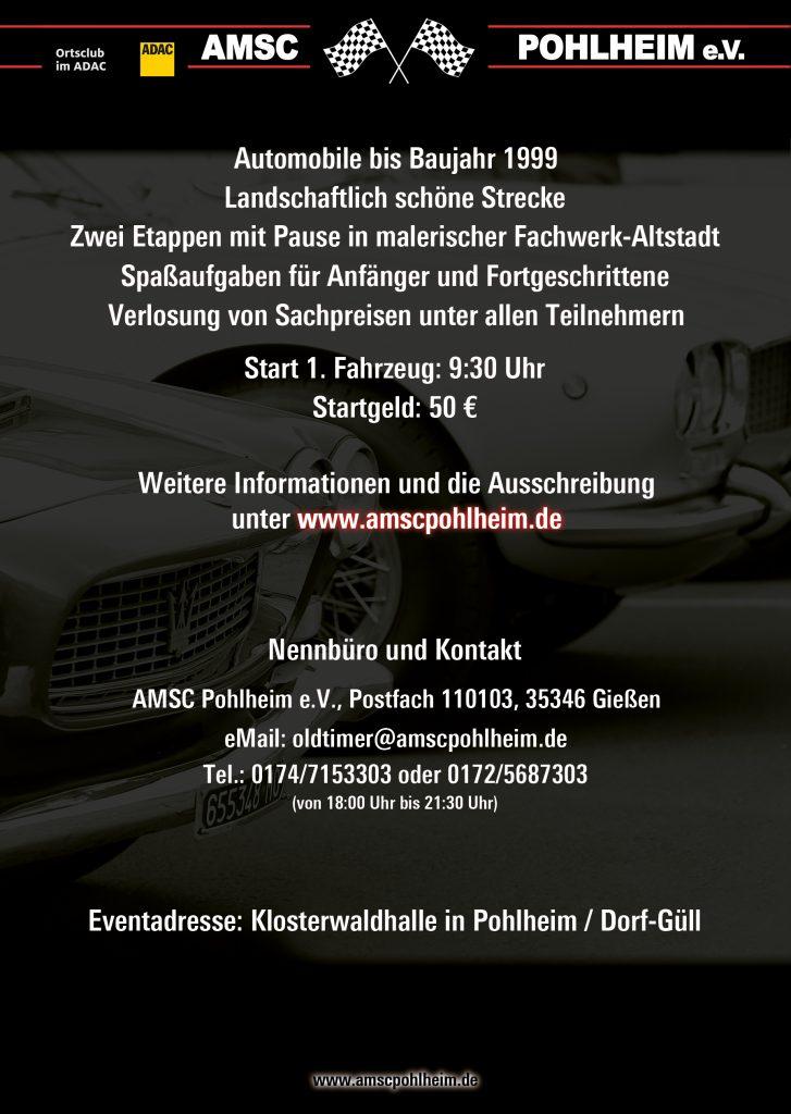 5. ADAC Limes Klassik - Flyer Back