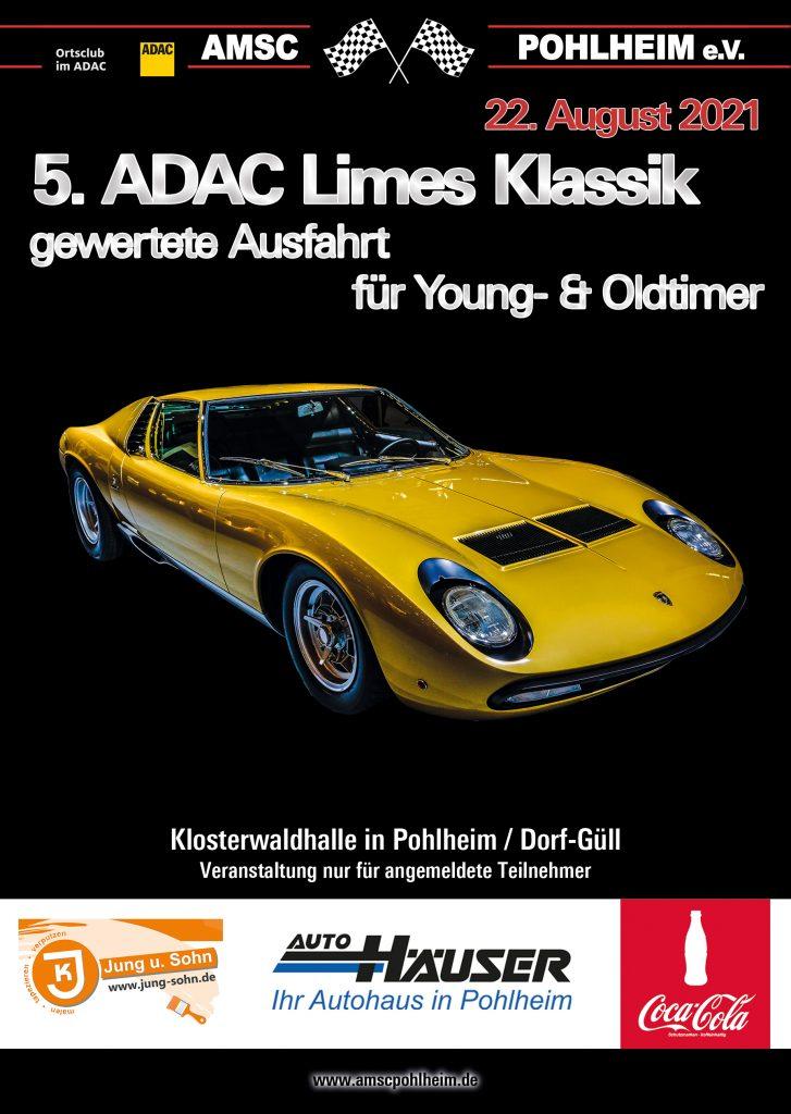 5. ADAC Limes Klassik - Flyer Front